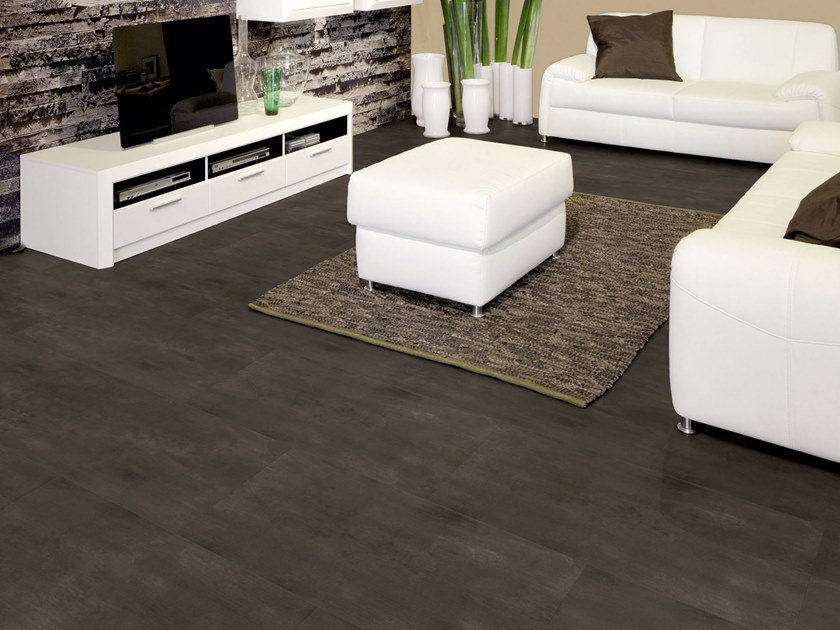 PVC flooring with stone effect ST 240 by PROJECT FLOORS