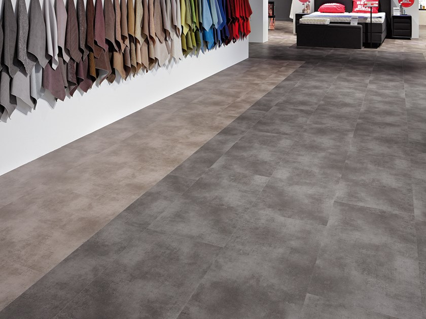 PVC flooring with stone effect ST 941 by PROJECT FLOORS