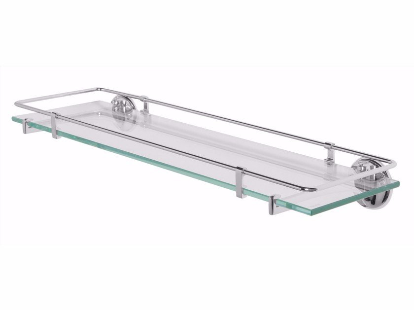 Crystal bathroom wall shelf ST. JAMES | Crystal bathroom wall shelf by GENTRY HOME