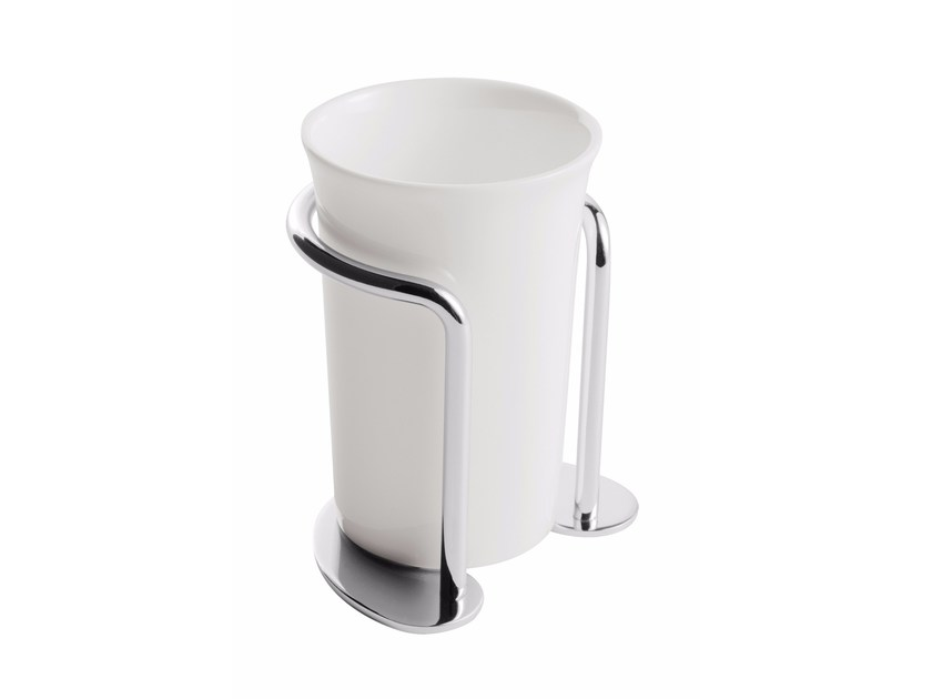 Ceramic toothbrush holder ST. JAMES | Ceramic toothbrush holder by GENTRY HOME