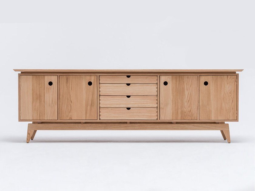 Madia in quercia ST SIDEBOARD by ST FURNITURE