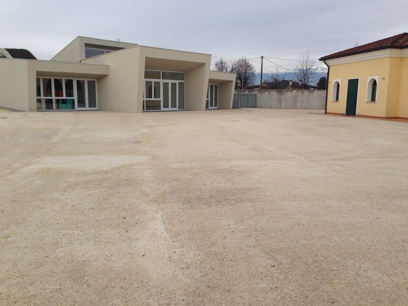 STABILSANA Piazzale scuola materna certificata LEED - Busta di Montebelluna (TV)