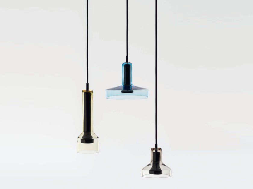 stablight pendelleuchte aus glas by artemide design arik. Black Bedroom Furniture Sets. Home Design Ideas