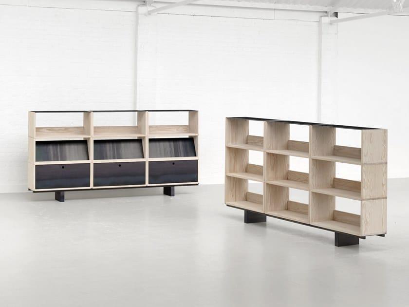 Modular Dougles fir sideboard STACK by Isomi