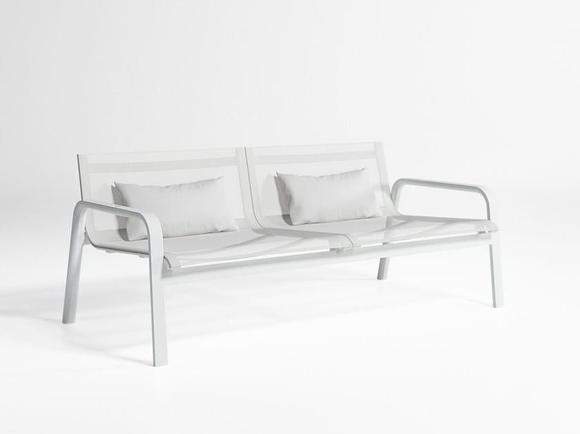 2 seater Batyline® sofa STACK | Sofa by GANDIA BLASCO
