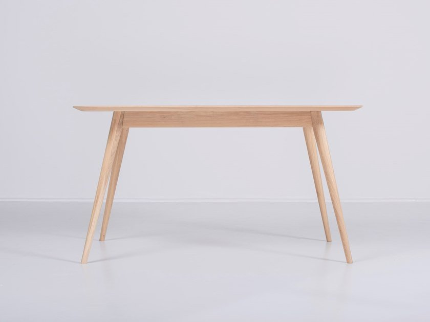 Rectangular oak table STAFA | Table by Gazzda