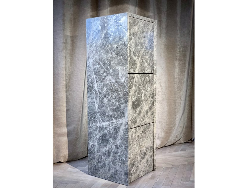 Marble cabinet STAGE by KYOHEI & MIRANDA