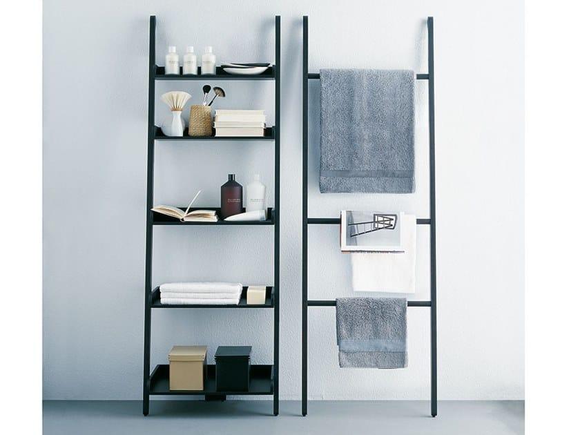 Handtuchhalter / Wandregal für Badezimmer aus Holz STAIRS By Agape ...