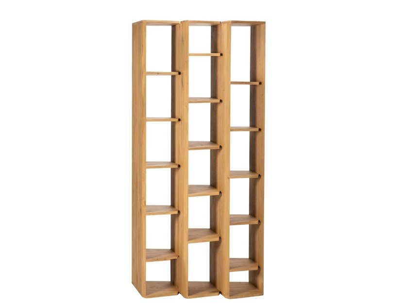 Double-sided oak bookcase STAIRS OAK | Bookcase by Ethnicraft