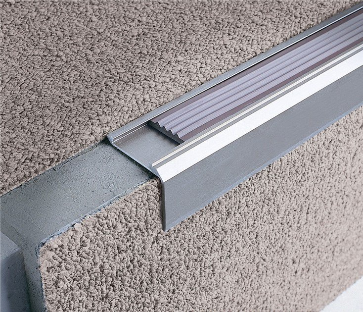 Stairnosing Profiles For Carpet And Rubber STAIRTEC SM 28 By PROFILITEC