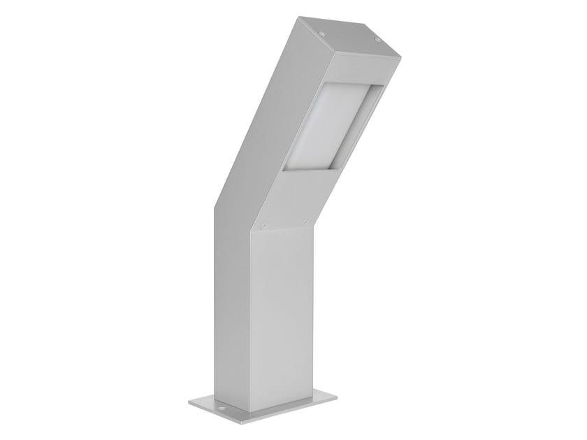 Extruded aluminium bollard light STALK_X by Linea Light Group