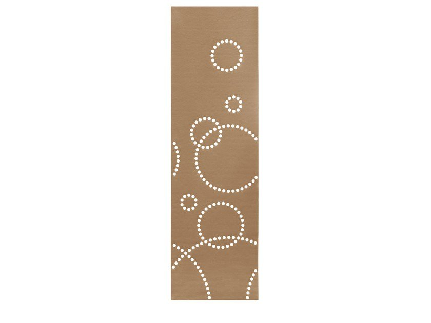 Felt panel curtain STAMP | Panel curtain by HEY-SIGN
