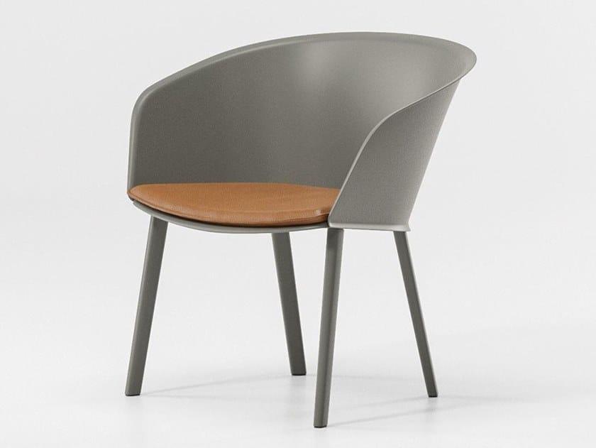 Garden aluminium easy chair STAMPA | Easy chair by Kettal