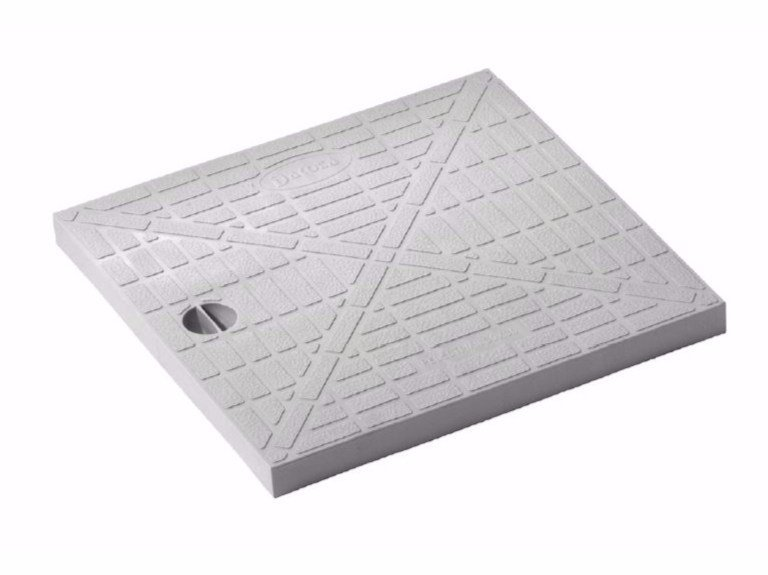 Manhole cover and grille for plumbing and drainage system STANDARD COVER by Dakota