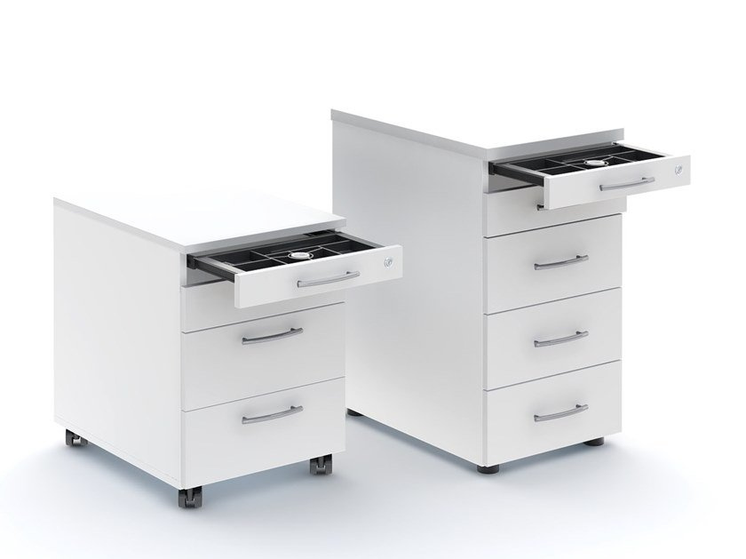 Office drawer unit with casters STANDARD | Office drawer unit by MDD