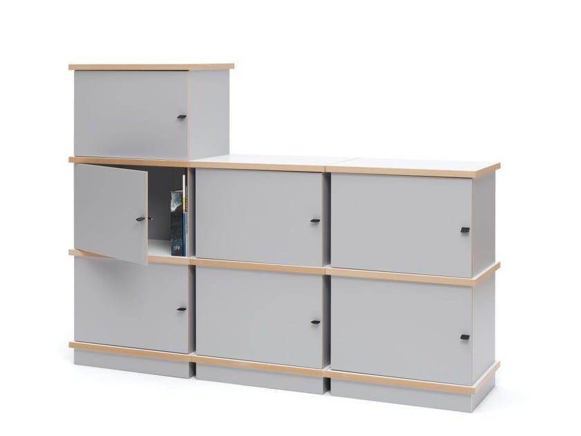 modular mdf bookcase stap by tojo möbel design eigenwert