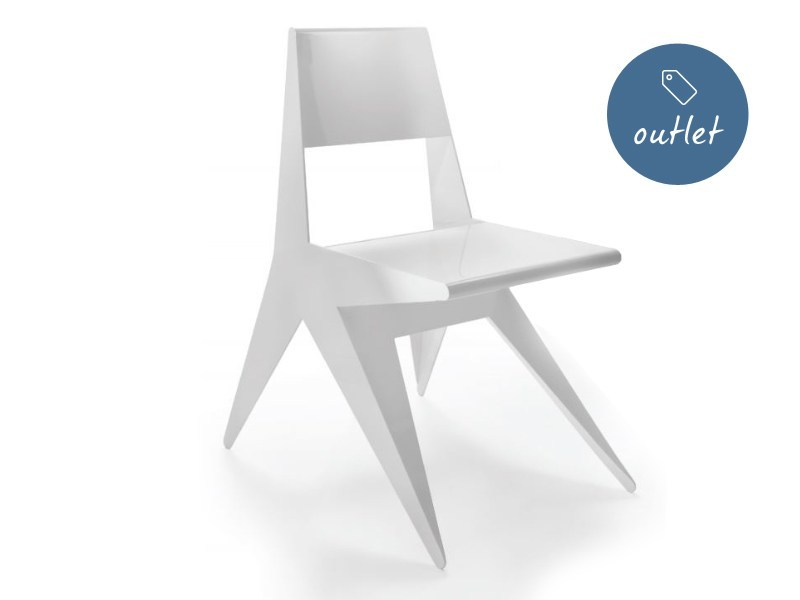 Lacquered chair STAR | Chair by Lamberti Design
