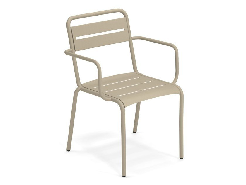 Easy chair STAR | Chair with armrests by emu