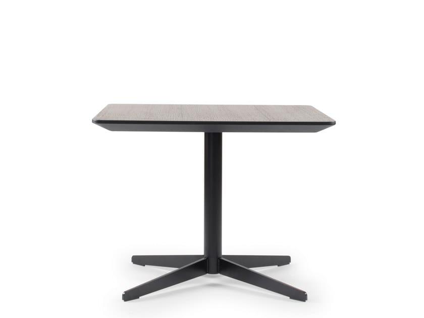 Square coffee table STAR | Coffee table by Riccardo Rivoli