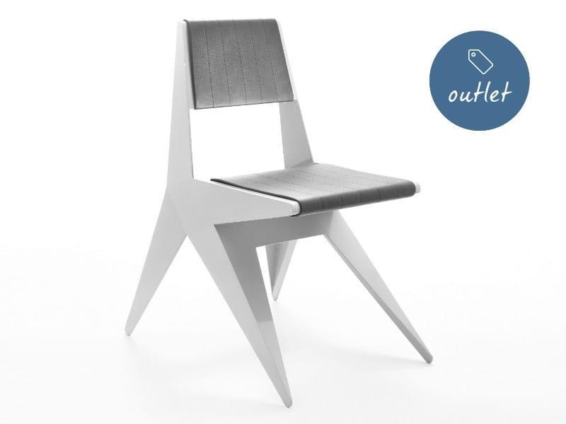 Sedia in pelle STAR | Sedia in pelle by Lamberti Design