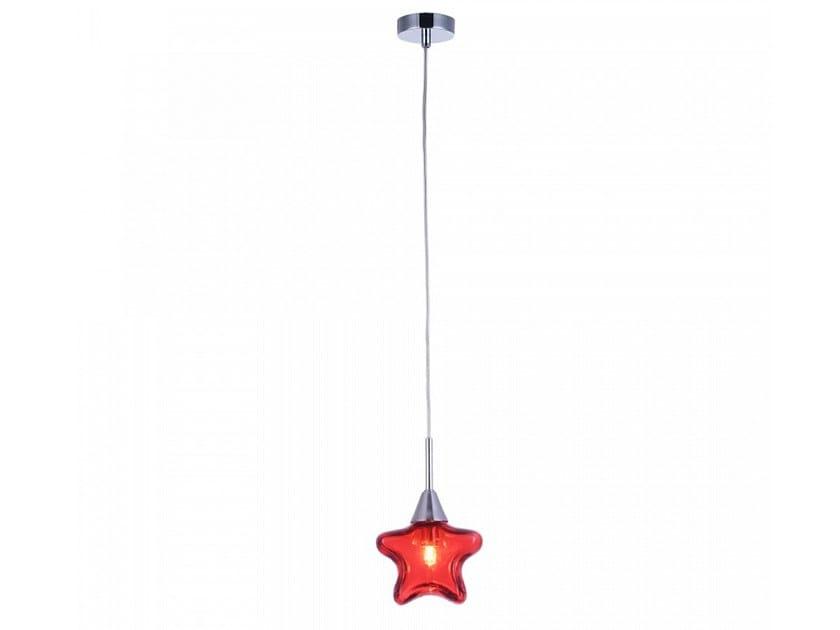 Glass pendant lamp STAR by MAYTONI