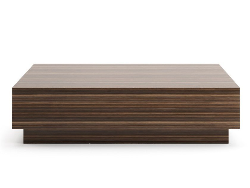 Square wooden coffee table for living room STAR by PRADDY