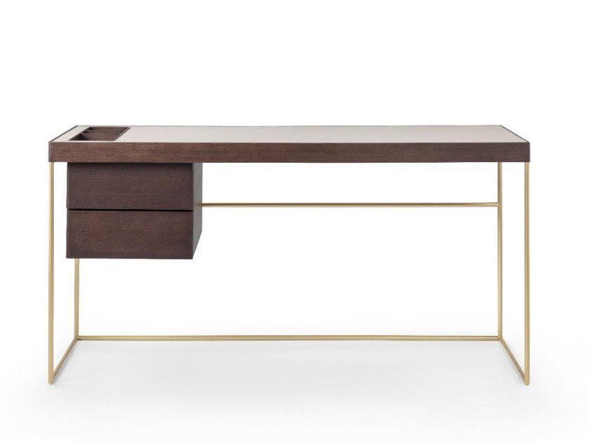 Rectangular writing desk with drawers STARDUST | Writing desk by Busnelli