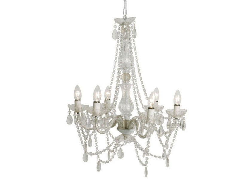 Acrylic glass chandelier STARLIGHT CLEAR by KARE-DESIGN