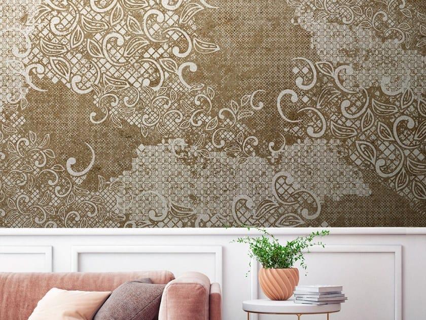Panoramic nonwoven wallpaper STARLING by Tecnografica