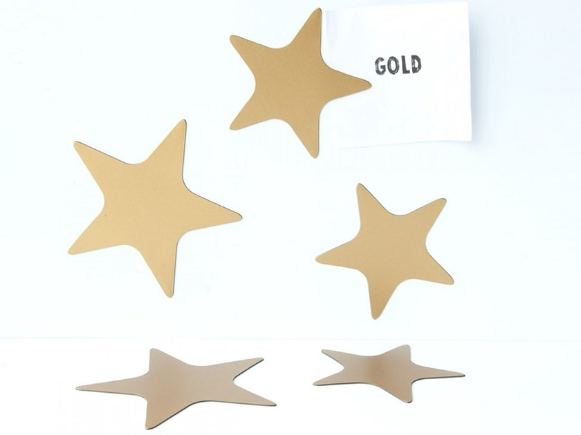 Magnet STARS GOLD by Groovy Magnets