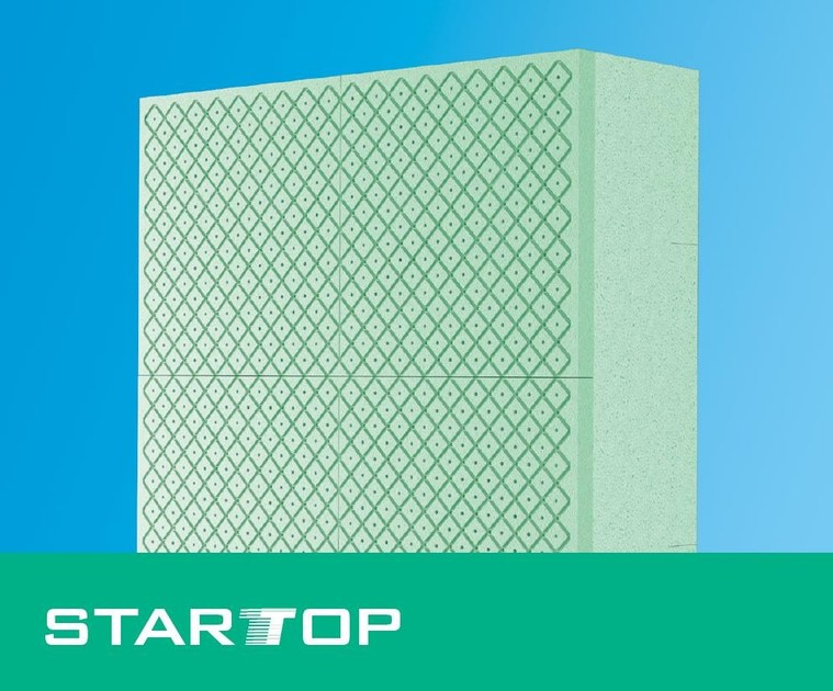 Exterior insulation system STARTOP by POLITOP