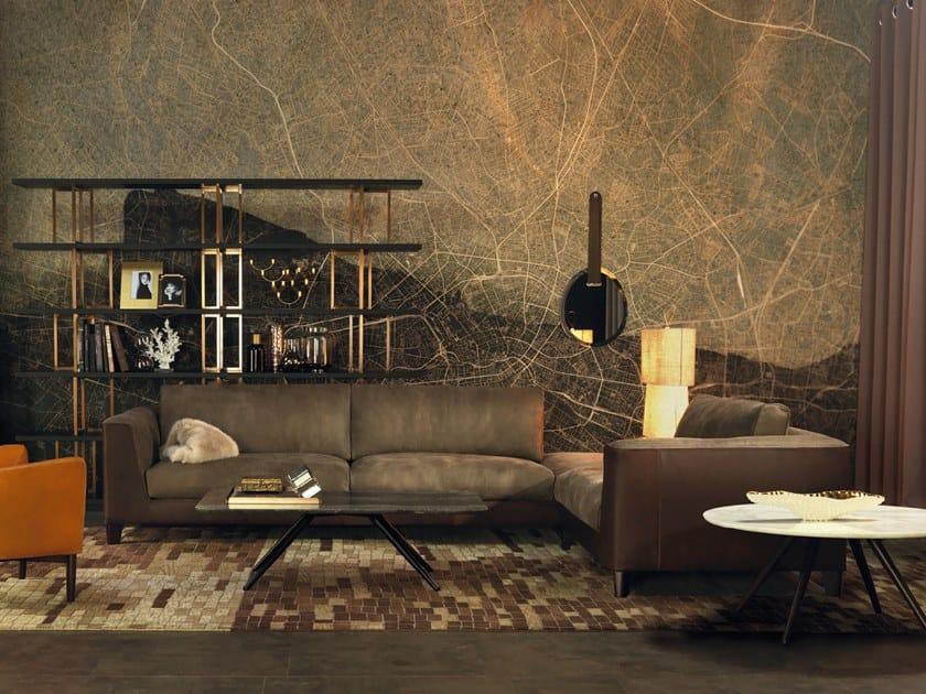 Corner leather sofa STATUS QUO   Corner sofa by Borzalino