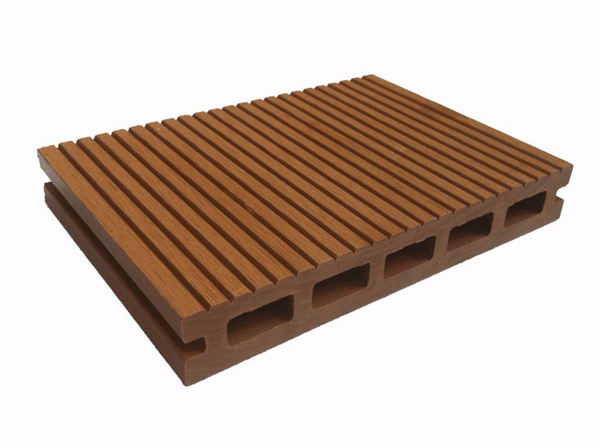 Wood panel for facade Stave Ventilated Wall 145 x 22 by NOVOWOOD