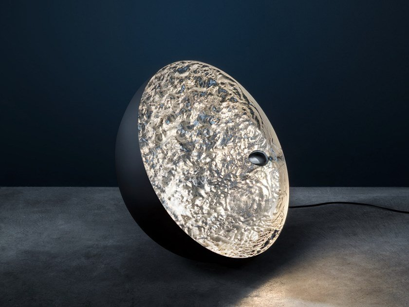 LED floor lamp STCHU-MOON 01 by Catellani & Smith