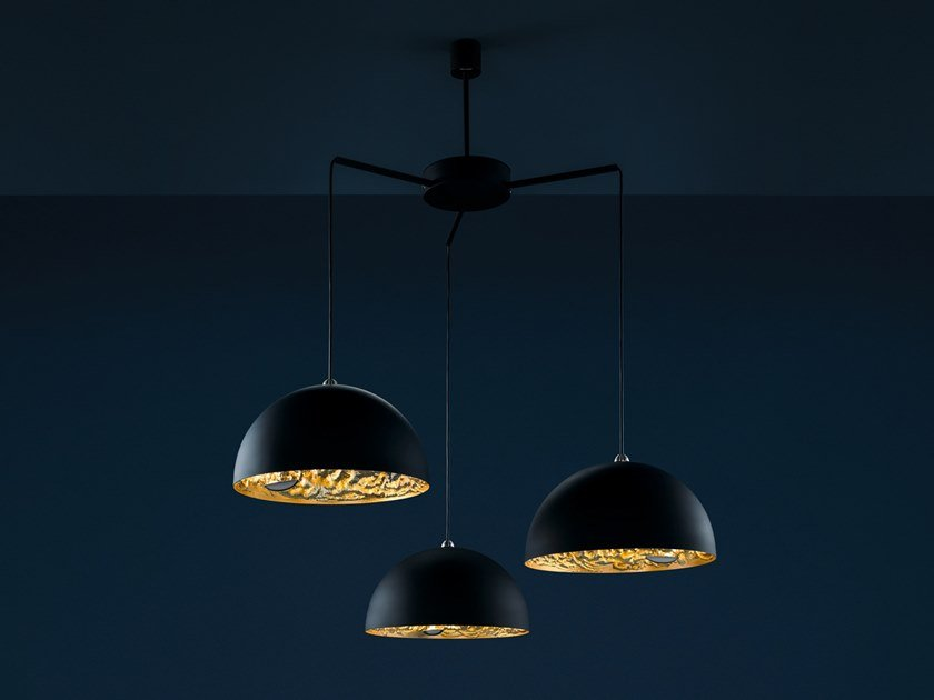 LED pendant lamp STCHU-MOON 02 CHANDELIER by Catellani & Smith