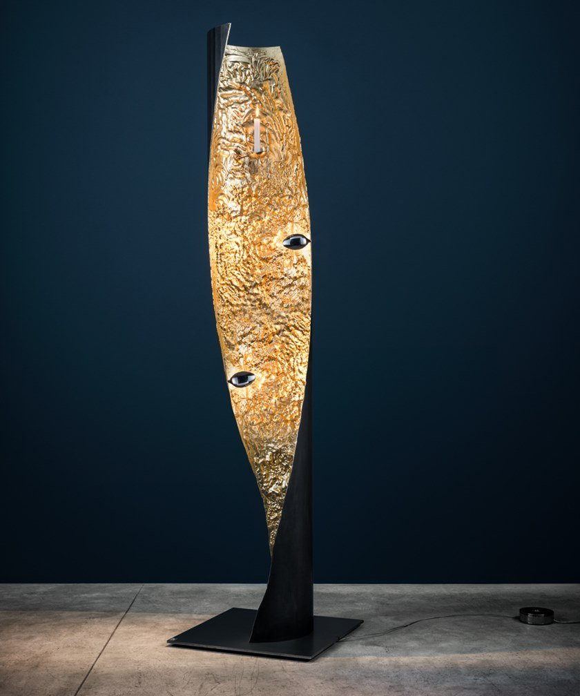 LED floor lamp STCHU-MOON 09 by Catellani & Smith