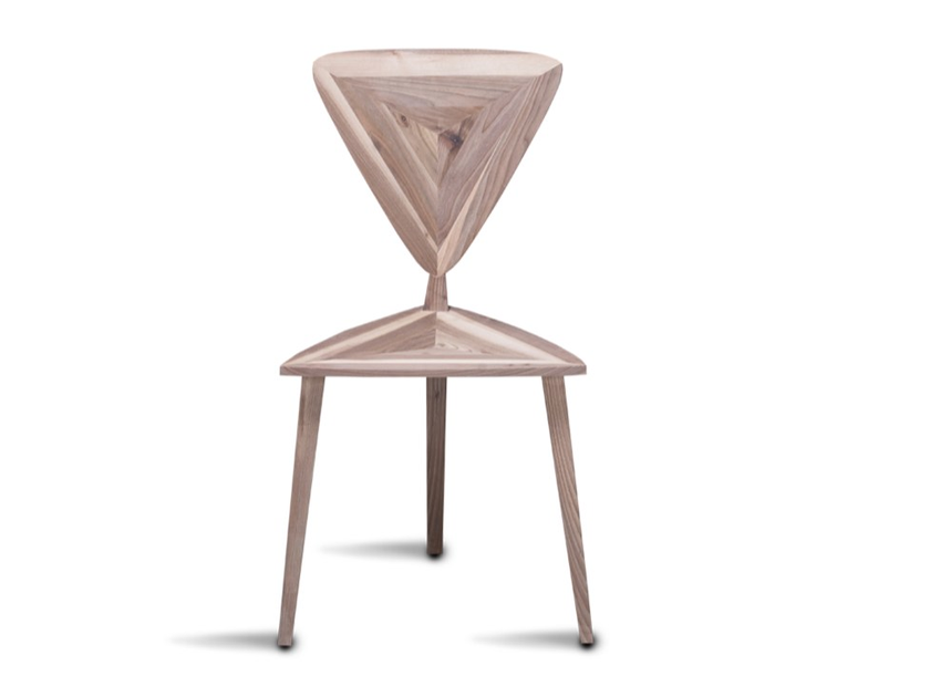 Solid wood chair STEALTH | Chair by HOOKL und STOOL