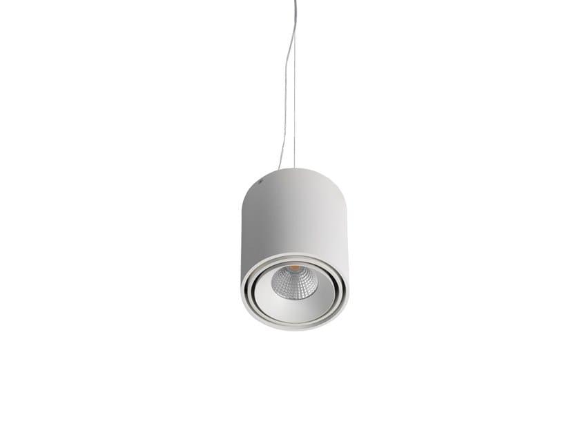 Lampada a sospensione in alluminio STEAMER SUSPENSION by Orbit