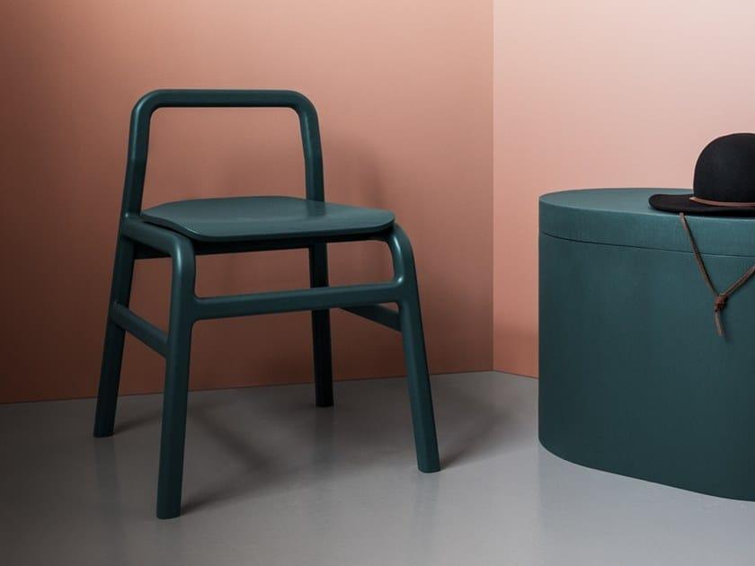 Sedia in frassino STED by Atelier Vaste