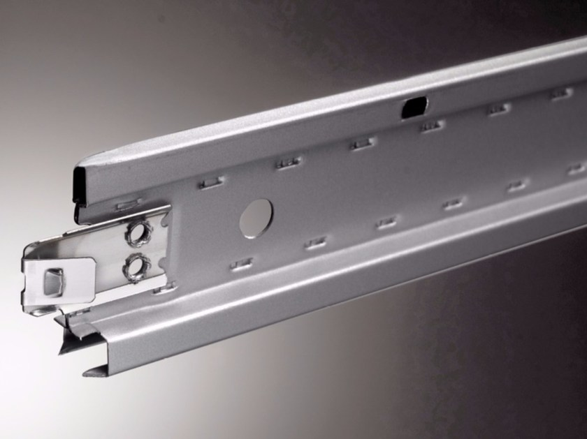 Frame and accessory for suspended ceiling STEEL STRONG   EASY LINE by atena