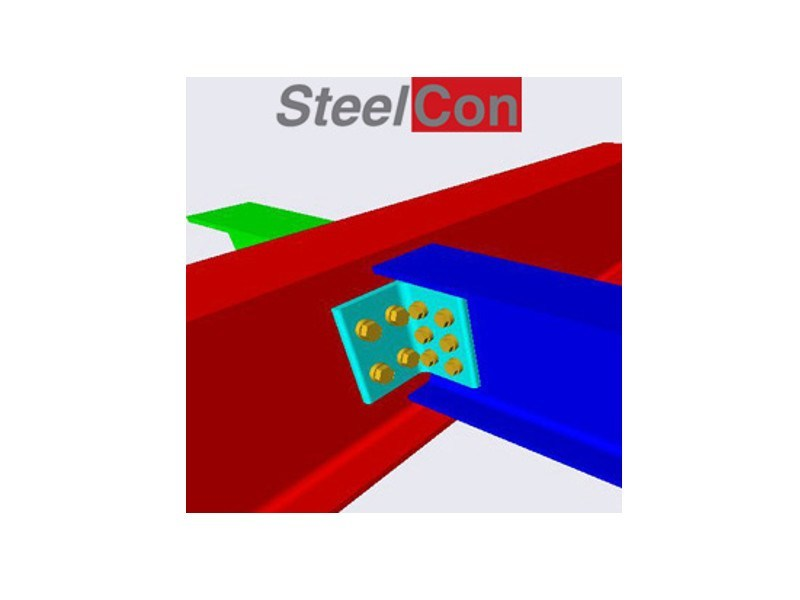 Structural calculation for steel STEELCON by GRAITEC