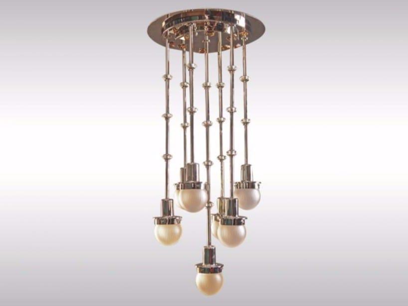 Pendant lamp STEINHOF-7F by Woka Lamps Vienna