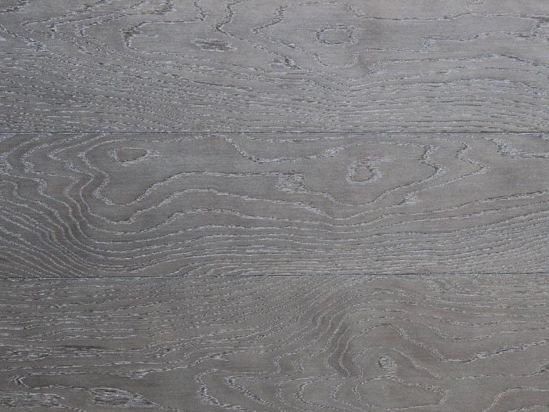 Brushed oak parquet STELLA SCURA by Lignum Venetia