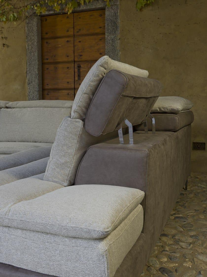 Angolare Flexstyle Tessuto Divano 4 Stella Posti A Relax In Sospeso 2beWIDYEH9