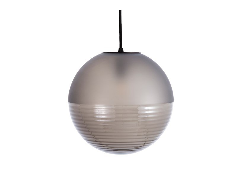 LED blown glass pendant lamp STELLAR SMALL by pulpo
