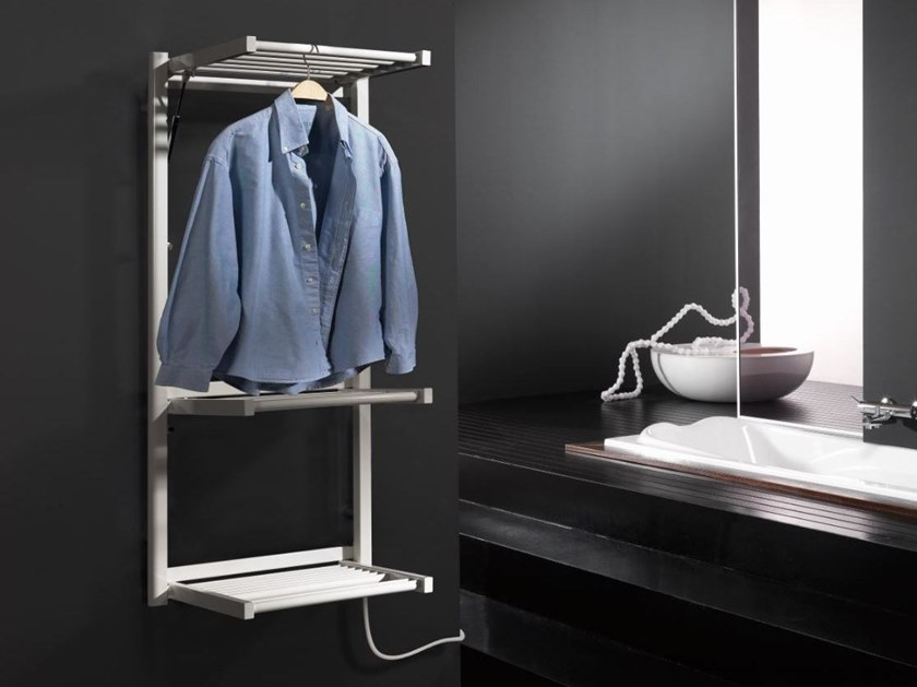 Steel towel warmer STENDY ELECTRIC by DELTACALOR