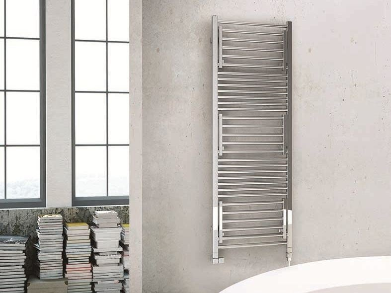 Swivel electric towel warmer STENDY SHORT ELECTRIC by DELTACALOR