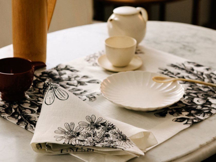 Breakfast set (6 placemats + 6 napkins) STENTOR   Placemat by The NapKing