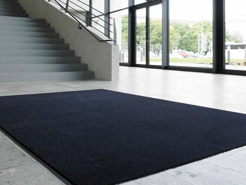 Solid-color carpeting STEP-IN 1400 by OBJECT CARPET