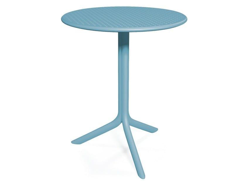 Table de jardin ronde STEP By Nardi design Raffaello Galiotto